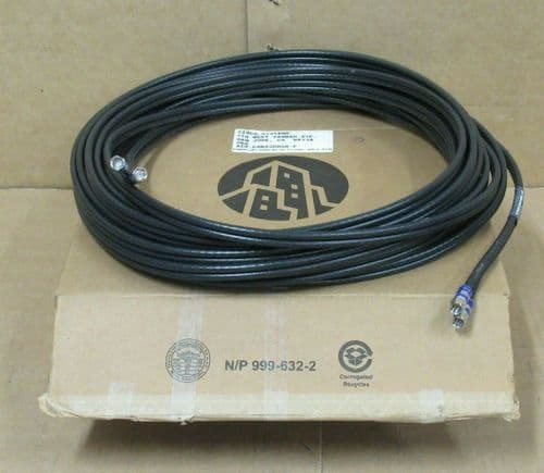 Cisco 37-0724-01 AIR-CAB52DRG6-F Dual Coax Coaxial Cable 52' for Aironet 52 Foot